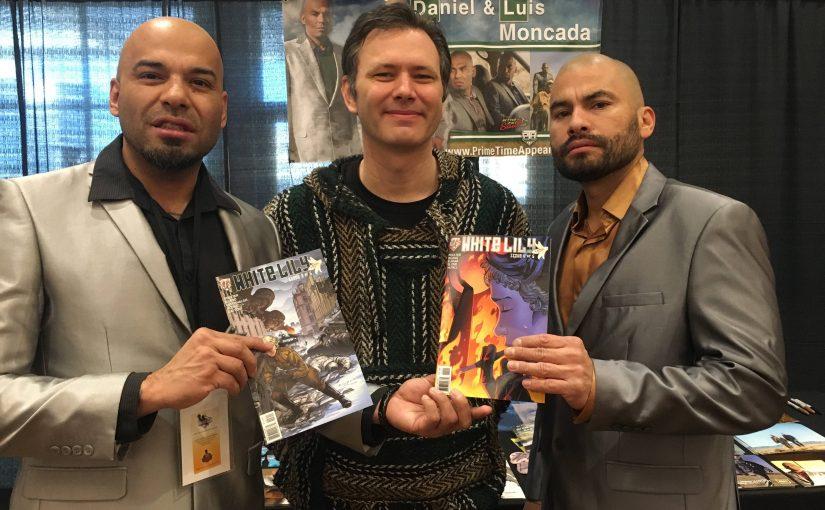 Preston Poulter with Luis and Daniel Moncada
